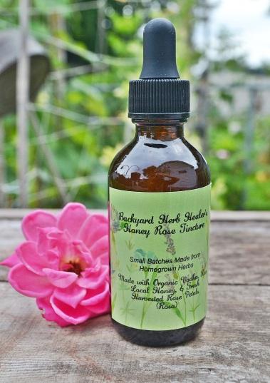 Honey Rose Tincture