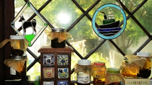 infusions in the window