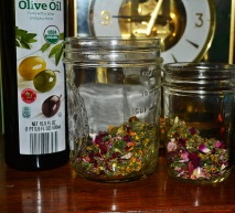 dried herbs for infusion