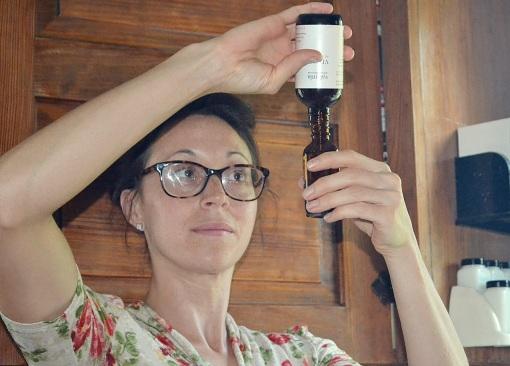 straining & bottling